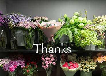 Flowers to say Thanks